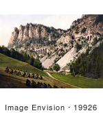 #19926 Stock Picture Of Harvested Hay Near The Semmering Railway To Krausel Krause Styria Austria