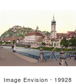 #19928 Stock Picture Of The Schlossberg As Seen From Hotel Florian In Styria Austria