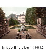 #19932 Stock Picture Of Reflecting Pools At Castle Hellbrunn In Salzburg Austria