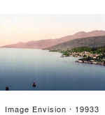 #19933 Stock Picture Of The Town Of Opatija Abbazia Sankt Jakob On The On The Adriatic Coast In Croatia