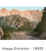 #19935 Stock Picture Of Ennstaler Alps In The Northern Limestone Alps Styria Austria