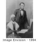 #1994 Abraham Lincoln showing Sojourner Truth by JVPD