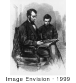 #1999 President Lincoln With Son Tad