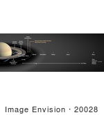 #20028 Stock Photography Of The Rings Of Saturn And Icy Moons