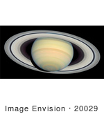 #20029 Stock Photography Of Saturn And Its Rings