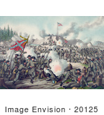 #20125 Stock Photography: The Battle Of Fort Sanders