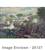 #20137 Stock Photography: First Battle Of Bull Run First Battle Of Manassas