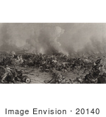 #20140 Stock Photography: Union And Confederate Troops At The Battle Of Gettysburg