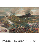 #20164 Stock Photography: The Battle Of Mission Ridge In 1863