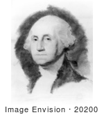 #20200 Stock Photography: A Portrait Of George Washington