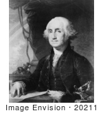 #20211 Stock Photography: The First President Of The United States George Washington