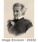 #20232 Historical Stock Photography: President Andrew Jackson