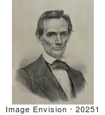 #20251 Historical Stock Photography: American President Abraham Lincoln