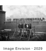 #2029 Adjusting the Ropes for Hanging the Conspirators of the Lincoln Assassination by JVPD