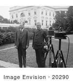 #20290 Historical Stock Photo: President Herbert Hoover And Dr Hugo Eichner