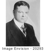 #20293 Historical Stock Photo: Herbert Clark Hoover The 31st President Of The Usa