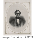 #20299 Historical Stock Photo Of Franklin Pierce The 14th American President