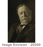 #20330 Historic Stock Photo Of William Howard Taft In 1909