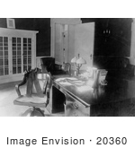 #20360 History Stock Photo Of President Warren G Harding'S Desk