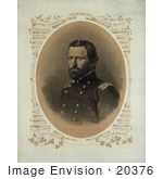 #20376 Historical Stock Photo Of Ulysses S Grant