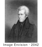 #2042 Engraving Of Andrew Jackson