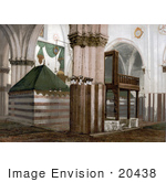 #20438 Historical Stock Photography Of The Tombs Of The Patriarchs Hebron Holy Land West Bank