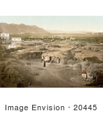#20445 Historical Stock Photography Of Jericho Holy Land West Bank