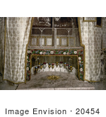 #20454 Historical Stock Photography Of The Grotto Of The Nativity Bethlehem