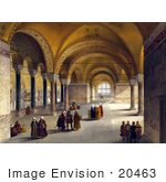 #20463 Stock Photography Of The Interior Of The Gynaeceum Of The Church Of Hagia Sophia