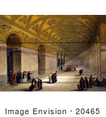#20465 Stock Photography Of The Entrance To The Gynaeceum Of The Hagia Sophia
