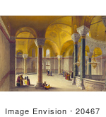 #20467 Stock Photography Of The Gynaeceum Of The Hagia Sophia