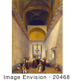 #20468 Stock Photography Of The Main Entrance Hall Of The Hagia Sophia