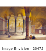 #20472 Stock Photography Of The Gynaeceum Of The Hagia Sophia