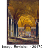 #20475 Stock Photography Of The North Nave Of The Ayasofya Mosque Hagia Sophia