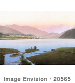 #20565 Historical Photochrome Stock Photography Of Heidersee Tyrol Austria
