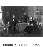 #2063 Lincoln And His Family