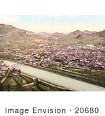 #20680 Historical Photochrome Stock Photography Of Trient Tyrol Austria