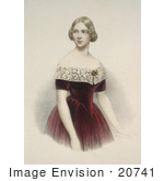 #20741 Stock Photography of the Soprano Opera Singer, Johanna Maria Lind, Jenny Lind, Swedish Nightingale by JVPD