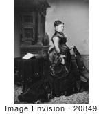 #20849 Stock Photography Of First Lady Julia Grant Wife Of American President Ulysses S Grant