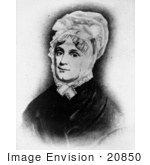 #20850 Stock Photography Of First Lady Anna Harrison Wife Of American President William Henry Harrison