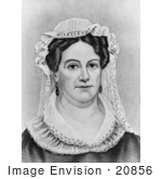 #20856 Stock Photography Of First Lady Rachel Jackson Wife Of American President Andrew Jackson
