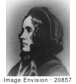 #20857 Stock Photography Of First Lady Jane Pierce Wife Of American President Franklin Pierce