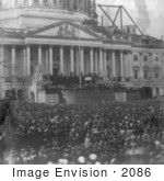 #2086 Inauguration Of Mr Lincoln 4 March 1861