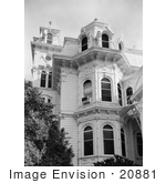 #20881 Stock Photography of the Exterior of the Victorian Albert Gallatin House or Governor's Mansion, Sacramento, California by JVPD