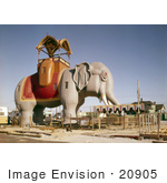 #20905 Stock Photography of Lucy the Elephant, Margate Elephant, Margate City, New Jersey by JVPD