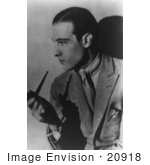 #20918 Stock Photography Of The Italian Sex Symbol Actor Rudolph Valentino