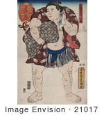 #21017 Stock Photography Of The Sumo Wrestler Ichiriki