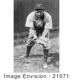 #21071 Stock Photography Of Pittsburgh Pirates Baseball Team'S Shortstop Honus Wagner