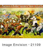 #21109 Stock Photography Of The Barnum And Bailey Greatest Show On Earth The Mahdi Or For The Victoria Cross