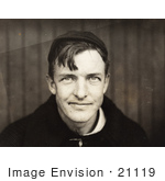 #21119 Stock Photography of NY Giants Pitcher, Christy Mathewson in 1910 by JVPD